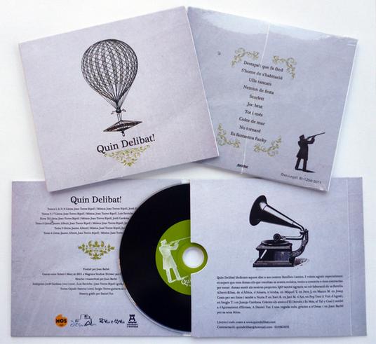 Primer disc de Quin Delibat!
