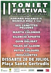 Quin Delibat! en concert al 2n Toniet Festival que es farà a Santa Gertrudis